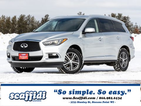 Pre-Owned 2017 INFINITI QX60 Base AWD 4D Sport Utility